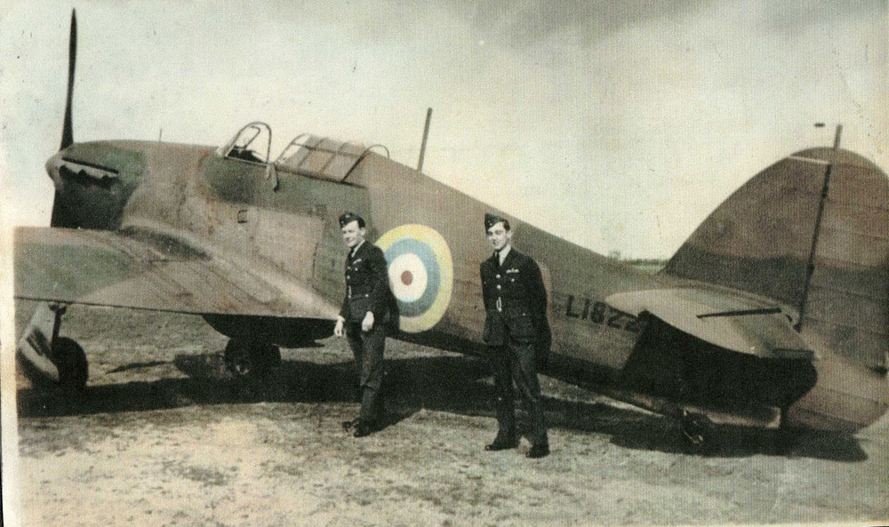history of the no 1 fighter squadron association